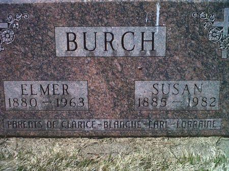 BURCH, ELMER - Mitchell County, Iowa | ELMER BURCH