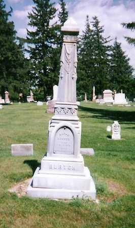 BURTCH, FAMILY STONE - Mitchell County, Iowa   FAMILY STONE BURTCH
