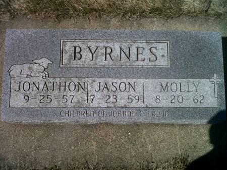 BYRNES, MOLLY - Mitchell County, Iowa | MOLLY BYRNES