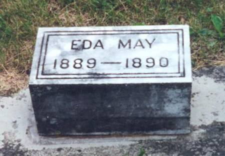 CARBERRY, EDA MAY - Mitchell County, Iowa | EDA MAY CARBERRY