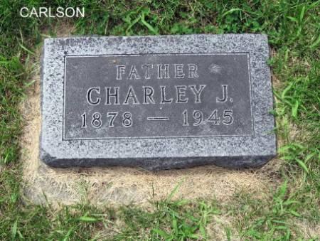 CARLSON, CHARLEY J. - Mitchell County, Iowa   CHARLEY J. CARLSON