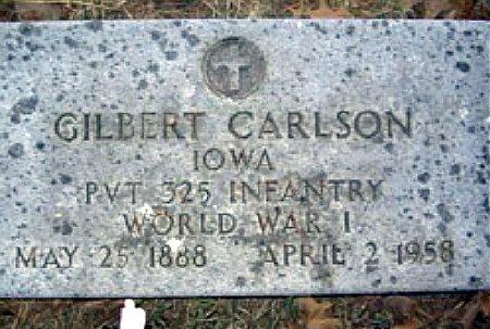 CARLSON, GILBERT OLIVER - Mitchell County, Iowa | GILBERT OLIVER CARLSON