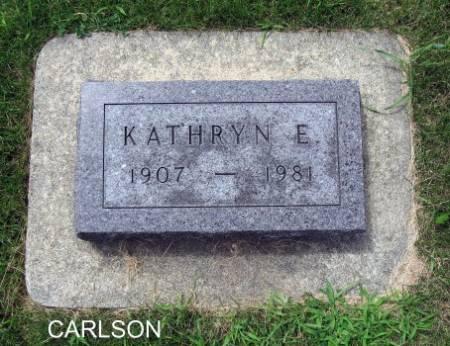 CARLSON, KATHRYN E. - Mitchell County, Iowa | KATHRYN E. CARLSON