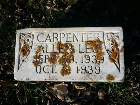 CARPENTER, ALLEN LEO - Mitchell County, Iowa   ALLEN LEO CARPENTER