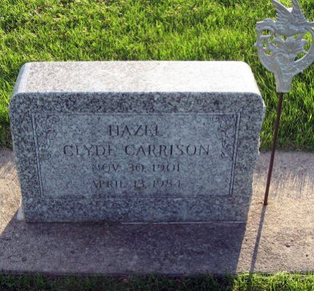 CARRISON, HAZEL - Mitchell County, Iowa | HAZEL CARRISON