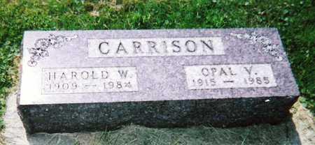 PEARSON CARRISON, OPAL VERA - Mitchell County, Iowa | OPAL VERA PEARSON CARRISON