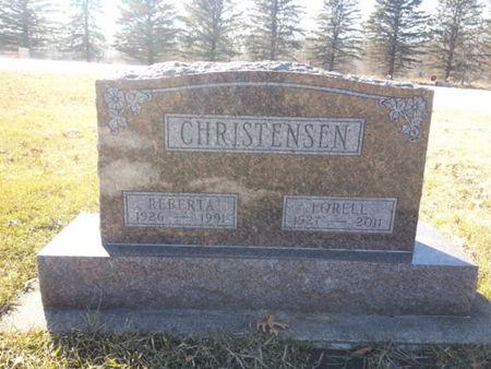 CHRISTENSEN, LORELL - Mitchell County, Iowa | LORELL CHRISTENSEN