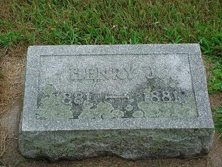 CLARK, HENRY JAMES - Mitchell County, Iowa | HENRY JAMES CLARK