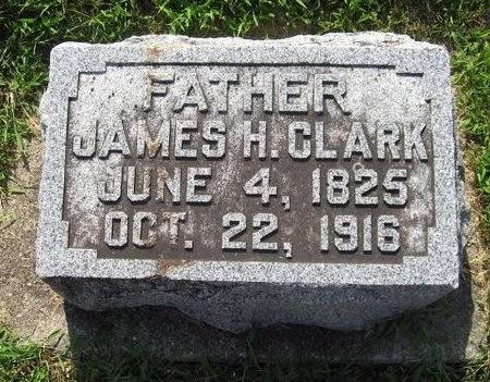 CLARK, JAMES HENRY - Mitchell County, Iowa | JAMES HENRY CLARK