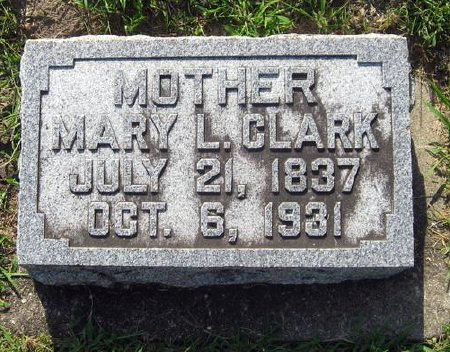 CLARK, MARY L. - Mitchell County, Iowa | MARY L. CLARK