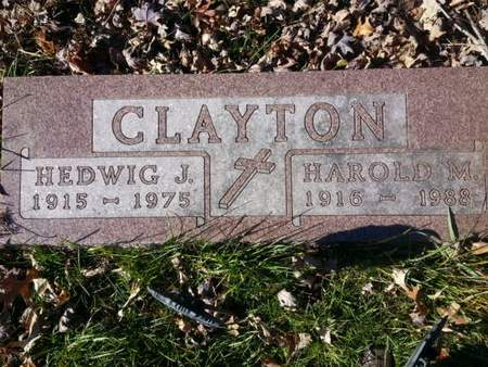 CLAYTON, HAROLD M. - Mitchell County, Iowa   HAROLD M. CLAYTON