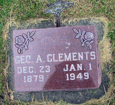 CLEMENTS, GEORGE ABNER - Mitchell County, Iowa | GEORGE ABNER CLEMENTS