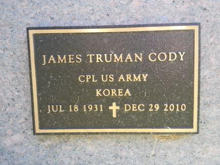 CODY, JAMES TRUMAN (MILITARY) - Mitchell County, Iowa | JAMES TRUMAN (MILITARY) CODY