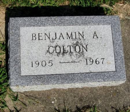 COLTON, BENJAMIN A. - Mitchell County, Iowa | BENJAMIN A. COLTON