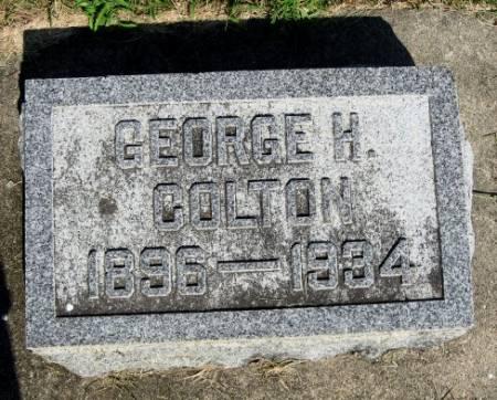 COLTON, GEORGE H. - Mitchell County, Iowa | GEORGE H. COLTON
