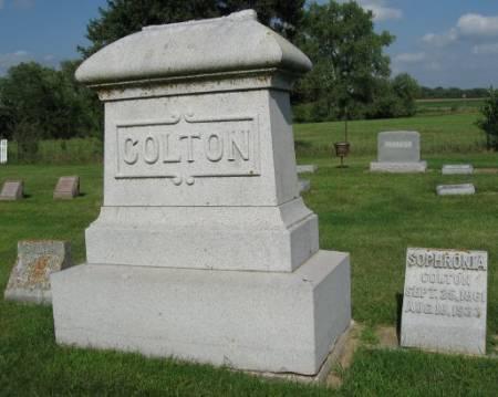 COLTON, SARAH (FAMILYSTONE) - Mitchell County, Iowa | SARAH (FAMILYSTONE) COLTON