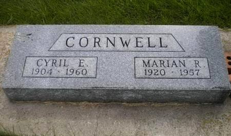TUBBS CORNWELL, MARIAN RUTH - Mitchell County, Iowa | MARIAN RUTH TUBBS CORNWELL