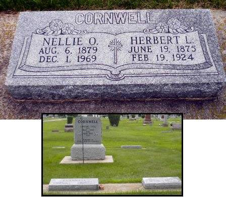 WEAVERLING CORNWELL, NELLIE OLIVE - Mitchell County, Iowa | NELLIE OLIVE WEAVERLING CORNWELL
