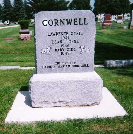 CORNWELL, LAWRENCE CYRIL - Mitchell County, Iowa | LAWRENCE CYRIL CORNWELL