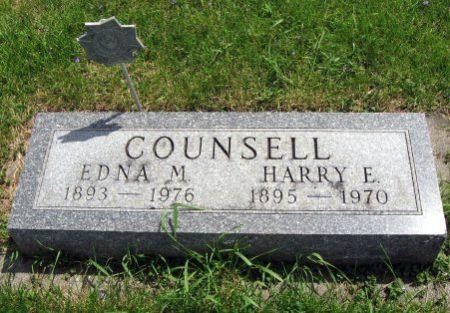 COUNSELL, HARRY E. - Mitchell County, Iowa   HARRY E. COUNSELL