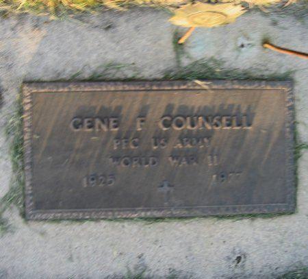 COUNSELL, GENE F. - Mitchell County, Iowa | GENE F. COUNSELL