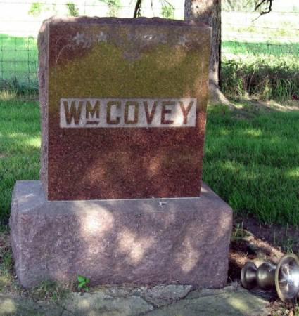COVEY, WILLIAM (FAMILYSTONE) - Mitchell County, Iowa   WILLIAM (FAMILYSTONE) COVEY