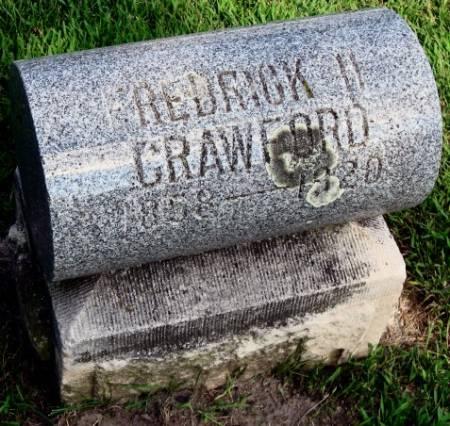 CRAWFORD, FREDRICK H. - Mitchell County, Iowa | FREDRICK H. CRAWFORD