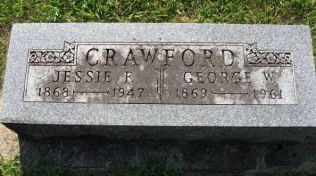 CRAWFORD, JESSIE F. - Mitchell County, Iowa | JESSIE F. CRAWFORD
