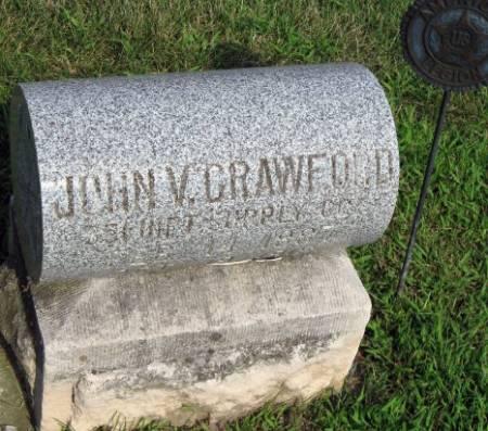 CRAWFORD, JOHN VALENTINE - Mitchell County, Iowa | JOHN VALENTINE CRAWFORD