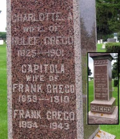 CREGO, CAPITOLA - Mitchell County, Iowa   CAPITOLA CREGO