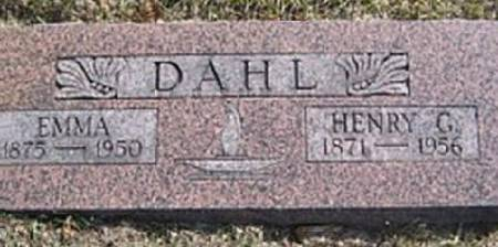 DAHL, HENRY G. - Mitchell County, Iowa   HENRY G. DAHL