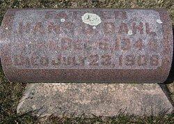 DAHL, HANS O. - Mitchell County, Iowa | HANS O. DAHL
