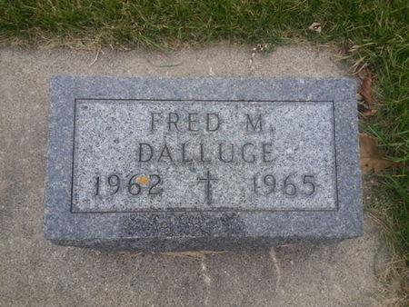 DALLUGE, FRED M. - Mitchell County, Iowa | FRED M. DALLUGE