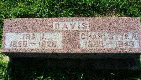 DAVIS, CHARLOTTE A. - Mitchell County, Iowa | CHARLOTTE A. DAVIS