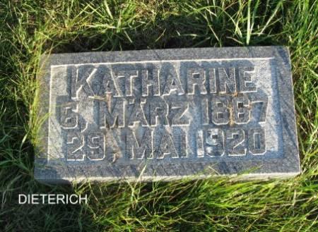 DIETERICH, KATHARINE - Mitchell County, Iowa | KATHARINE DIETERICH