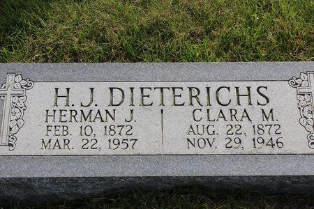 BUEHRER DIETERICHS, CLARA MARGARETHE - Mitchell County, Iowa | CLARA MARGARETHE BUEHRER DIETERICHS