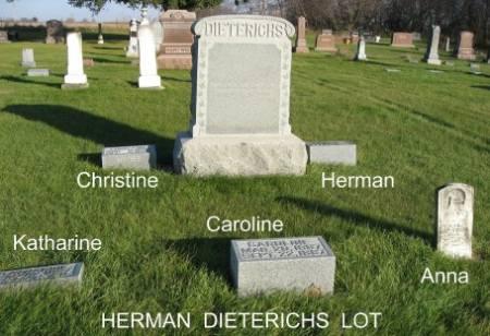 DIETERICHS, HERMAN (LOT) - Mitchell County, Iowa | HERMAN (LOT) DIETERICHS