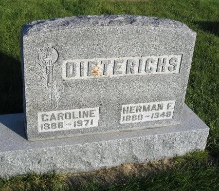 HARTWIG DIETERICHS, CAROLINE - Mitchell County, Iowa | CAROLINE HARTWIG DIETERICHS