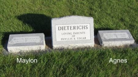 DIETERICHS, MAYLON (LOT) - Mitchell County, Iowa | MAYLON (LOT) DIETERICHS