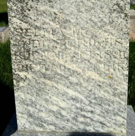 DIETERICHS, SELMA M. - Mitchell County, Iowa   SELMA M. DIETERICHS