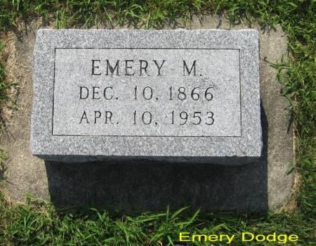 DODGE, EMERY M. - Mitchell County, Iowa | EMERY M. DODGE