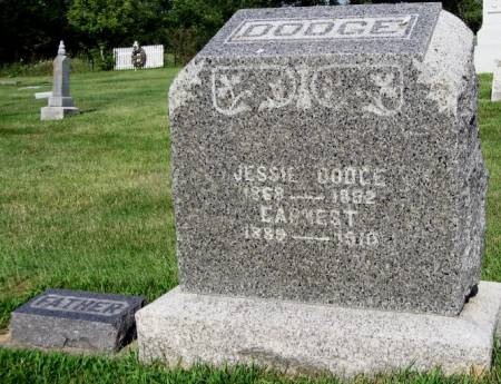 DODGE, EARNEST - Mitchell County, Iowa   EARNEST DODGE