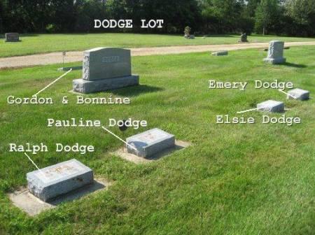 DODGE, RALPH (LOT) - Mitchell County, Iowa | RALPH (LOT) DODGE