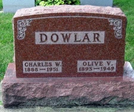 DOWLAR, OLIVE V. - Mitchell County, Iowa   OLIVE V. DOWLAR