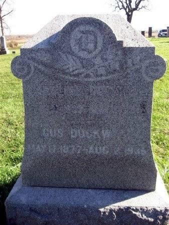 DUCKWITZ, GUSTAVE - Mitchell County, Iowa | GUSTAVE DUCKWITZ