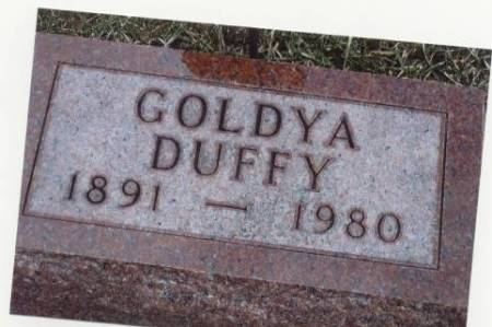 DUFFY, GOLDYA - Mitchell County, Iowa | GOLDYA DUFFY