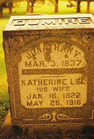 DUMIRE, (ANNA) KATHERINE - Mitchell County, Iowa | (ANNA) KATHERINE DUMIRE