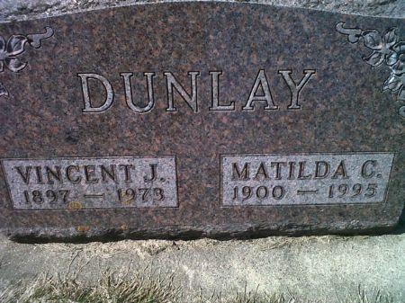 DUNLAY, MATILDA C. - Mitchell County, Iowa | MATILDA C. DUNLAY