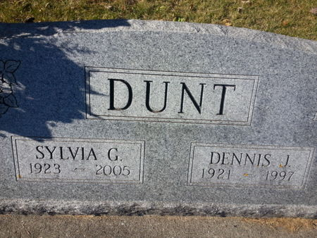 DUNT, SYLVIA G. - Mitchell County, Iowa | SYLVIA G. DUNT