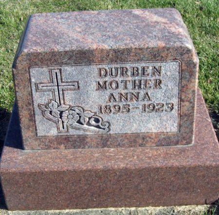 DURBEN, ANNA - Mitchell County, Iowa | ANNA DURBEN